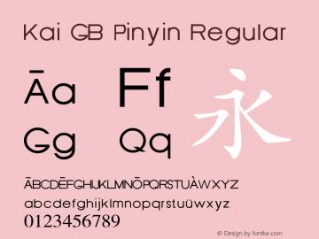 Kai GB Pinyin