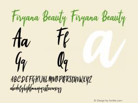 Firyana Beauty