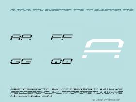 QuickQuick Expanded Italic