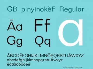 GB Pinyinok-F
