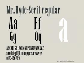 Mr.Hyde-Serif