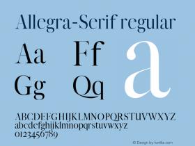 Allegra-Serif
