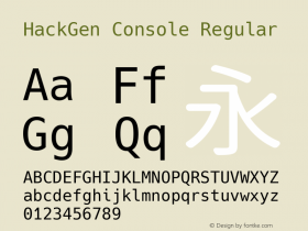 HackGen Console