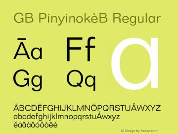 GB Pinyinok-B