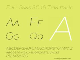 Full Sans SC