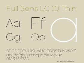 Full Sans LC