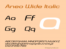 Aneo Wide