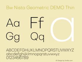 Bw Nista Geometric DEMO