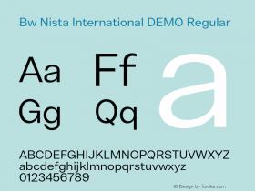 Bw Nista International DEMO