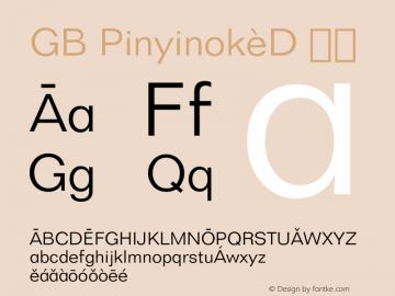 GB Pinyinok-D