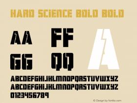 Hard Science Bold