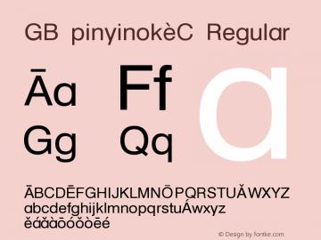 GB Pinyinok-C