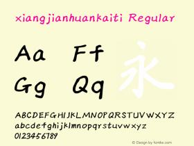 xiangjianhuankaiti