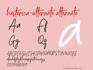 hesterica-alternate
