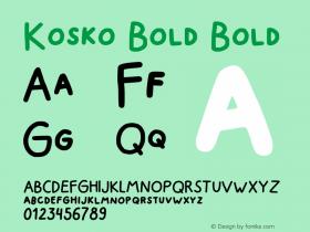 Kosko Bold