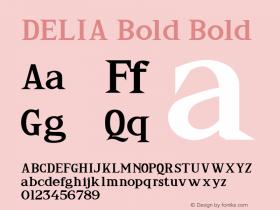 DELIA Bold