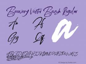 Brewery Vector Brush
