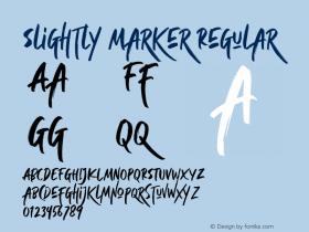 Slightly Marker