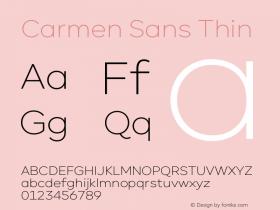 Carmen Sans