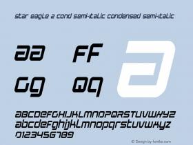 Star Eagle 2 Cond Semi-Italic