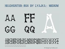 Headhunter(RUS BY LYAJKA)