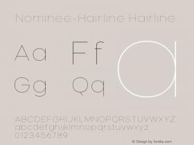 Nominee-Hairline