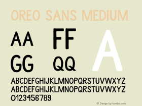Oreo Sans