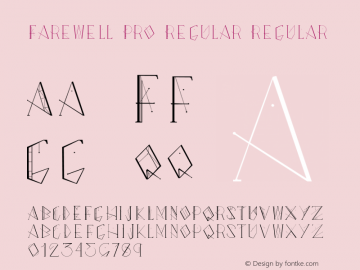 Farewell Pro Regular