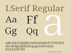I.Serif