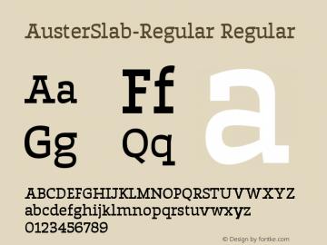 AusterSlab-Regular