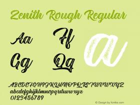 Zenith Rough