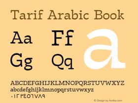 Tarif Arabic
