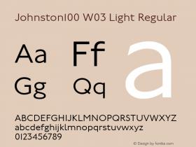 Johnston100 W03 Light
