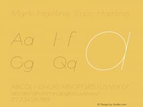 Mark-Hairline-Italic