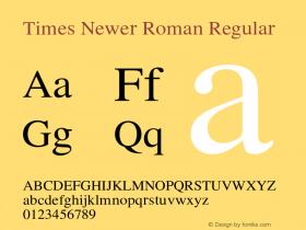 Times Newer Roman