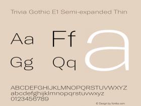 Trivia Gothic E1