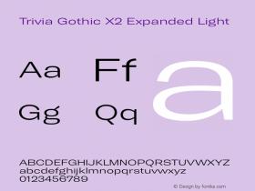 Trivia Gothic X2