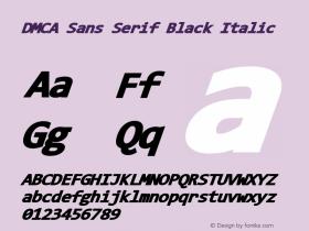 DMCA Sans Serif