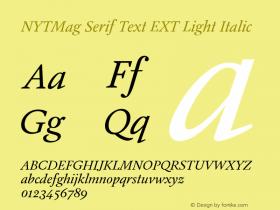 NYTMag Serif Text EXT