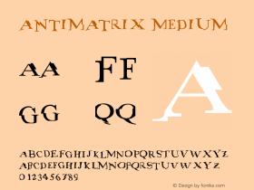 antimatrix