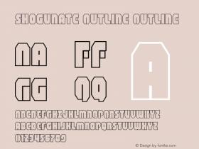 Shogunate Outline