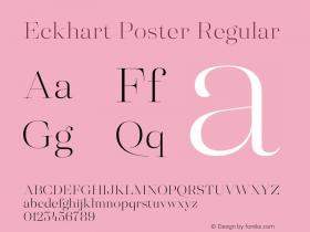 Eckhart Poster