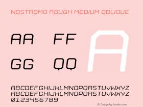Nostromo Rough