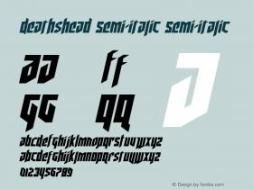 Deathshead Semi-Italic