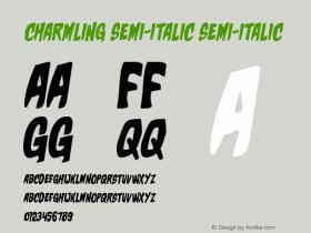 Charmling Semi-Italic