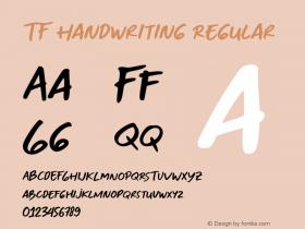 TF Handwriting