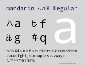 mandarin A-H