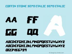 Coffin Stone Semi-Italic