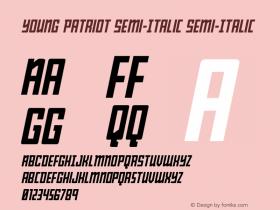 Young Patriot Semi-Italic