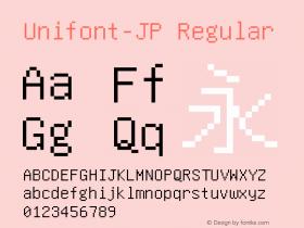 Unifont-JP